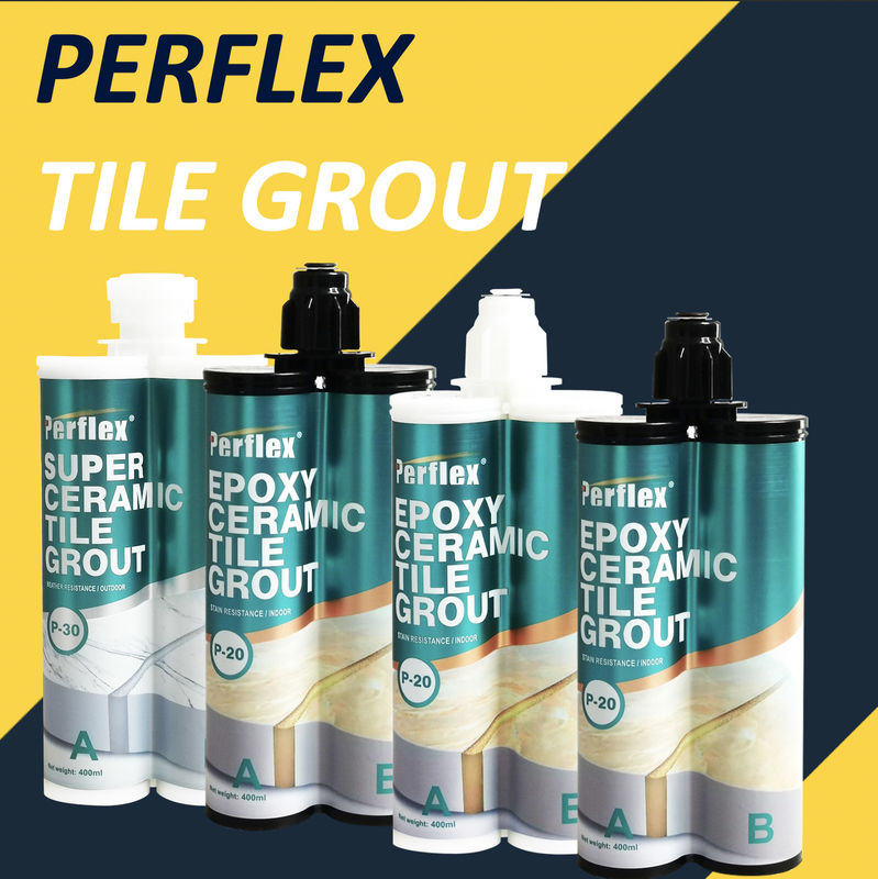 Professional Perflex Waterproof Tile Joint Filler Non Sagging Scratch Resistance